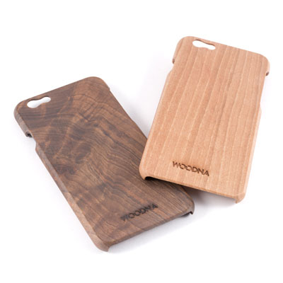 FUNDA DE MADERA DE NOGAL para iPhone 6