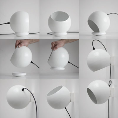 ORBITAL magnetical modular lamp