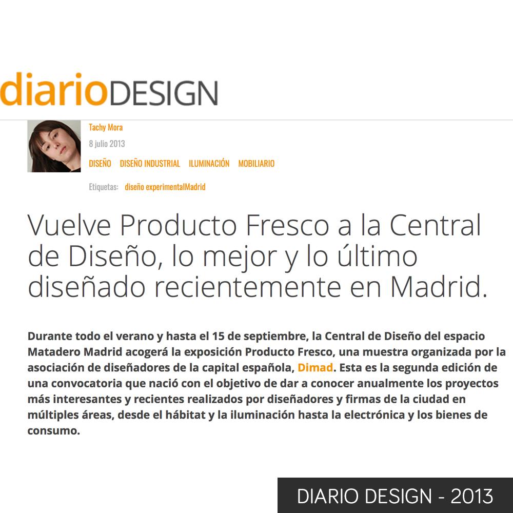 diario design 2013