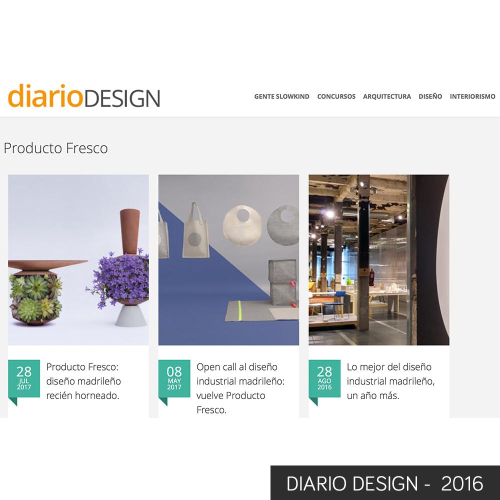 diario design 2016