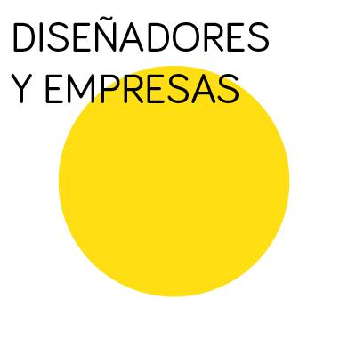 Diseñadores y empresas